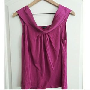 Silk Theory Sleeveless Blouse!